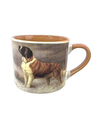 Extra Large Coffee Mug - St. Bernard Painting by American Kennel - Painting Bernard