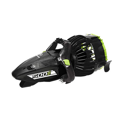 Yamaha Seascooter | Professional Dive Series | 220Li 350Li and 500Li | Underwater Scooter |Automatic Buoyance System| Designed for Salt Water | Class Power and Speed (500 Li |Metallic Black/Green)