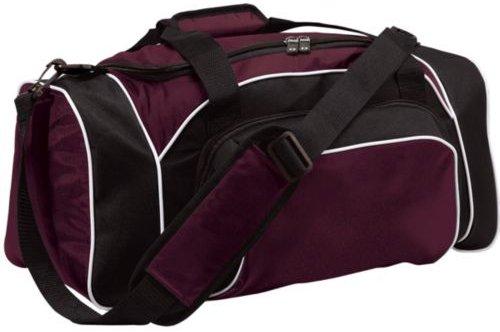 League Heavyweight Oxford Nylon Duffel Bag from Holloway Sportswear (Bag Tri Sport Color)