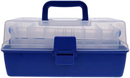 SM SunniMix 釣り タックル ボックス 釣り道具入れ 釣り小物入れ ポータブル 整理 持ち運び易い 全2サイズ