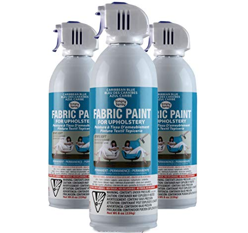 Simply Spray Upholstery Fabric Spray Paint 3 PK Caribbean for sale  Delivered anywhere in USA