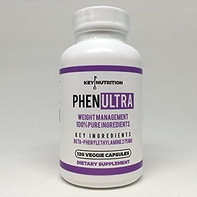 Phenultra- Energy Boosting - Weight Management - Diet Pills - 120 Potent Veggie Capsules