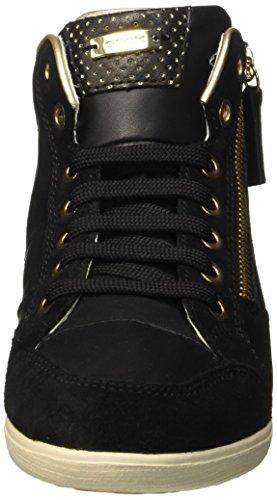 Geox D Myria A - Zapatillas de deporte Mujer Negro (Blackc9999)