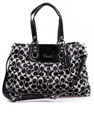 Image Unavailable. Image not available for. Color  Coach Ashley Signature  Sateeen Carryall ... 5b20d85c512d7