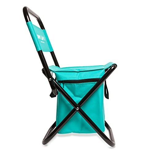Mini Portable Folding Chair w Built In Cooler by Savvy Import It All