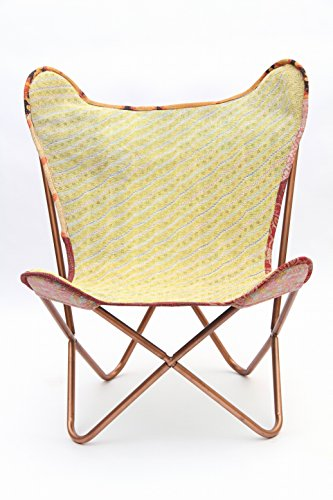 LG_2017 Butterfly Cooper Chair with Vintage Kantha, Muted Vintage Tone 11 ()