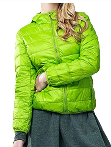 Coat Women Gocgt Up Resistant Coat Zip Packable Jacket Hooded Puffer Down Ultra 8 6RxRUY