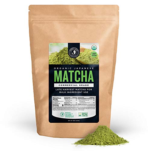 - Jade Leaf - Organic Japanese Matcha Green Tea Powder, Commercial Grade - [1lb Bulk Size]