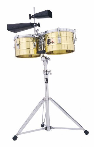 Latin Percussion LP272-B Timbal Solid Brass by Latin Percussion