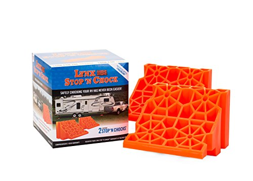 Tri-Lynx 00018 Wheel Stop/Chock, (Pack of 2) (Off Levelers Roll)