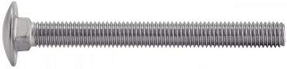 50X Flachrundschrauben m Vierkantansatz Edelstahl A2 10x150 M10 DIN603