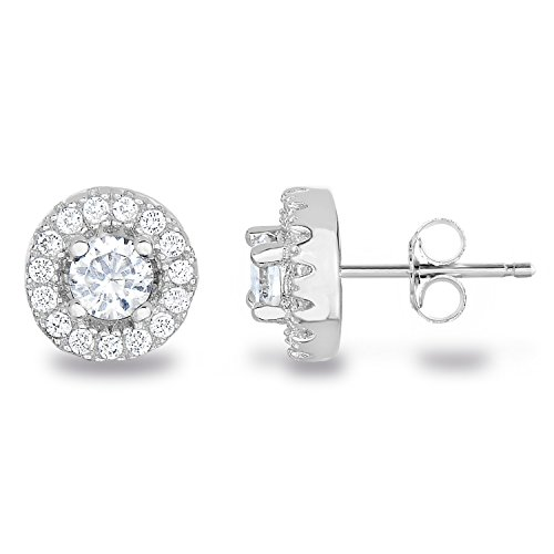 4mm Round Stud Earrings - 5