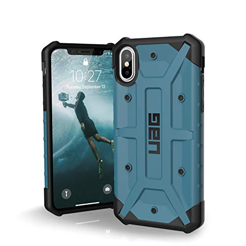 URBAN ARMOR GEAR UAG iPhone Xs/X [5.8-inch Screen] Pathfinder-Light Rugged [Slate] Military Drop Tested iPhone Case