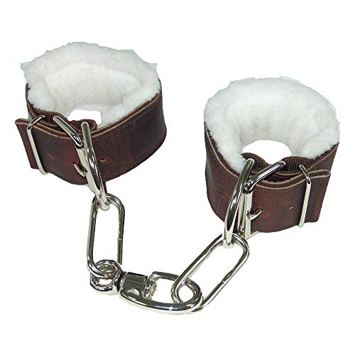 International Intrepid Fleece - Intrepid International Fleece Lined Webbing Horse Hobbles