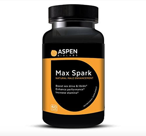 Max Spark By Aspen Bio Labs  Natural Male Enhancement Helps Boost Sex Drive And Libido  Enhance Performance  And Increase Stamina