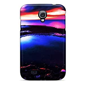 JmBll Galaxy S4 Hybrid Tpu Case Cover Silicon Bumper Sunset At The Beach