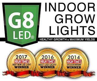 G8LED 450 Watt LED Bloom Only Grow Light for Flowering