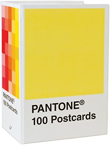 office products, office, school supplies, paper, cards, card stock,  postcards 1 image Pantone Postcard Box: 100 Postcards (Pantone Color Chip promotion