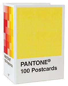picture of Pantone Postcard Box: 100 Postcards (Pantone Color Chip Card Set, Art Postcards)