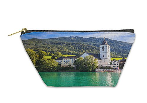 Gear New Accessory Zipper Pouch, Parish Church At St Wolfgang, Small, 6007966GN by Gear New