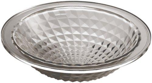 KOHLER K-2361-TG3 Kallos Spun Glass Undermount Bathroom Sink, Translucent Doe