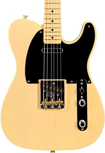 age '52 Telecaster Korina Solid-Body Electric Guitar, Blackguard Blonde (Korina Wood Guitar)