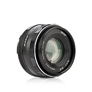 Meike MK-50mm F/2.0 Large Aperture Fixed Manual Focus Lens work for APS-C sony Cameras A6500 A6300 A6000 A6100 NEX3 NEX5 NEX6 NEX7 A5000 A5100