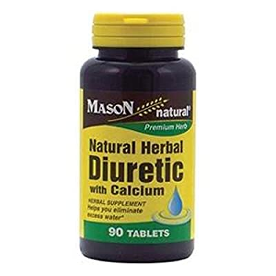 3 Pack Special of MASON NATURAL NATURAL HERBAL DIURETIC TABLETS 90 per bottle