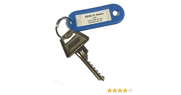Assa TL serie 6 pin llaves para bumping: Amazon.es: Bricolaje y ...