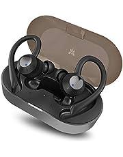 AXLOIE Bluetooth Kopfhörer Sport in Ear Ohrhörer Bluetooth 5.0 IPX7 Wasserdicht Sportkopfhörer Wireless Kopfhörer mit Ladekästchen und Mikrofon 25 Stunden für Joggen/Laufen/Fitness