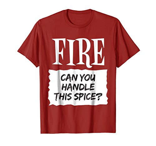 Fire Shirt Hot Sauce Packet Taco Easy Halloween Costume