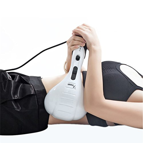 VIKTOR JURGEN Handheld Back Massager - Double Head Electric Full Body Massager - Deep Tissue Percussion Massage for Muscles, Head, Neck, Shoulder, Back, Leg, Foot -Best Gifts for Women/Men