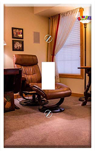 Switch Plate Single Toggle - Eames Chairs Chairs Ottoman, used for sale  Delivered anywhere in USA