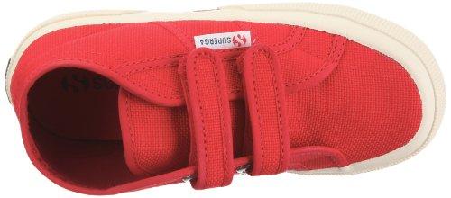 Superga 2754-Jcot S0003G0 - Zapatillas de algodón para niños Rojo (Rot (Red))