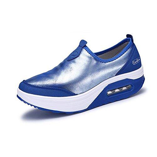 da Blu casual ginnastica Scarpe Scarpe altezza scarpe donna ginnastica shake da donna Colore 37 Piattaforma da ginnastica Dimensione casual ad Viola da da Scarpe fitness crescente zeppa rFqdInxqwZ
