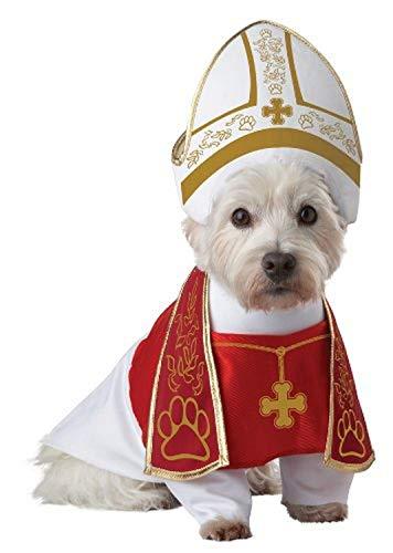 California Costumes Holy Hound Dog Costumes, Pet, Red/White, Medium