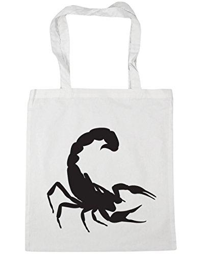 HippoWarehouse - Bolsa de playa de Algodón  Mujer blanco