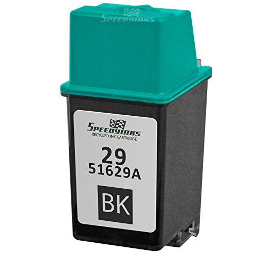 Speedy Inks - Remanufactured Replacement Ink Cartridge for Hewlett Packard 51629A HP 29 Black for use in HP Deskjet 600, Deskjet 600C, 660, 660C, 660Cse, 670, 670C, 670TV, 672, 672C, 680, 680C, 682