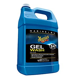 Meguiar's M5401 Marine/RV Gel Wash - 1 Gallon