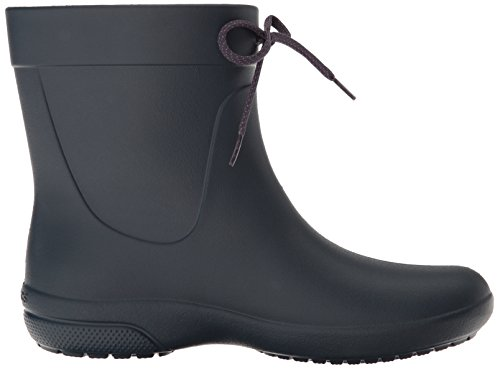 Crocs Freesail Shorty Rainboot Navy, Botas de Lluvia para Mujer Blu (Navy)