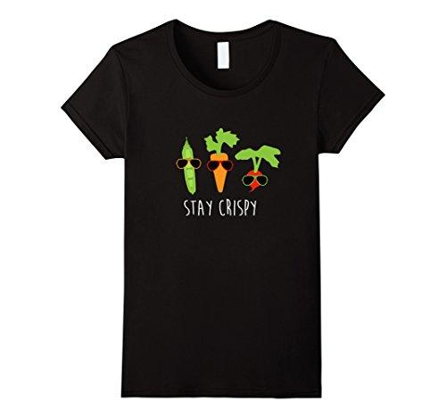 womens-stay-crispy-veggie-shirt-vegetable-sunglasses-gardening-gift-medium-black