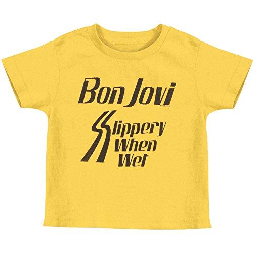 Pour Rock Classics Toddlertee Bon When Slippery Bébé Band shirt Jovi American Garçon pwA1z5qdw