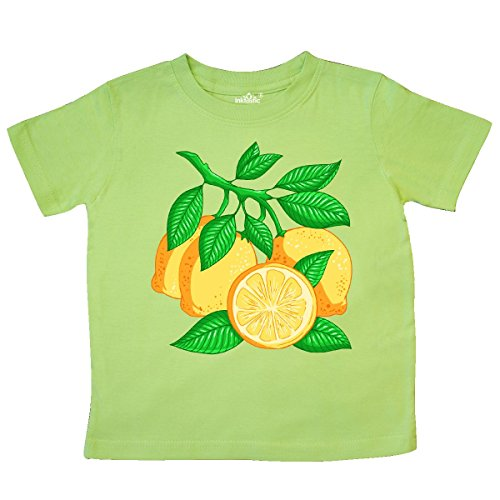 inktastic - I Love Lemons with Lemon Tree Toddler T-Shirt 3T Key Lime 2fdd0