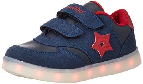 ConWay Unisex-Kinder 155823 Sneaker Mehrfarbig (Blau)