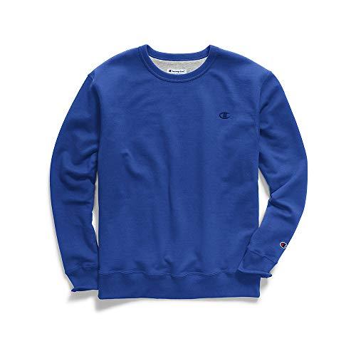 - Champion Men's Powerblend Pullover Sweatshirt, Surf the Web, Medium