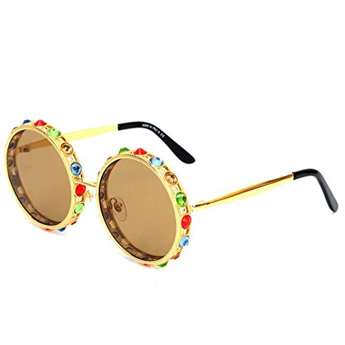Korean version of the trend of sunglasses round - Trend Korean Sunglasses