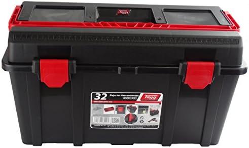 Tayg Caja herramientas plástico n. 32, negro, 480 x 258 x 255 mm ...
