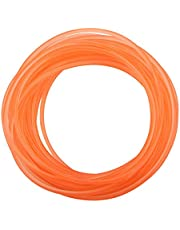 Round PU Polyurethane Belt Surface Orange Belting for Drive Transmission for Printing Machine(6mm*10m)