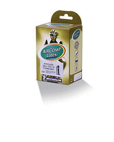 Michelin Schlauch Aircomp Latex C4 Standart 42 Camara, Unisex, Color 884, 47/57