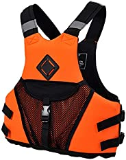 Kayak Diving Vest Adult Life Jackets for Men and Women Adjustable Diving Water Sports Boating Life Jacket with
